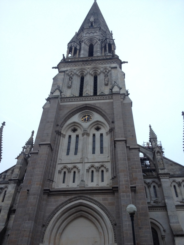 Église St-Nicolas de Nantes. C'est dans cette paroisse que mon ancêtre Jean Leclerc dit Francoeur est né en 1659.