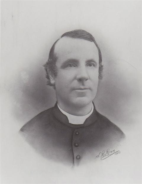 Frédéric-Auguste Oliva. Photo : Livernois & Bienvenu, entre 1866 et 1873. Collection Yves Beauregard. Source : Fabrique de St-François-de-la-Rivière-du-Sud